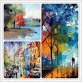 One Hundred Abstract Art Oil Paint Ideas APK