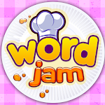Word Jam: A word search and word guess brain game Icon