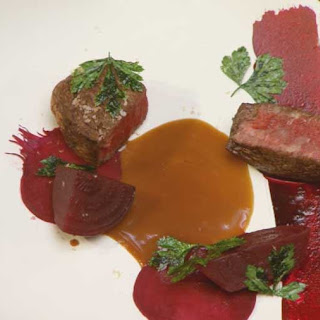 Beef Fillet with Beetroot Two Ways