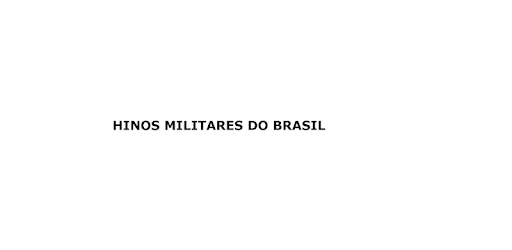 Hinos Militares do Brasil Appar (APK) gratis nedladdning för Android/PC/Windows screenshot