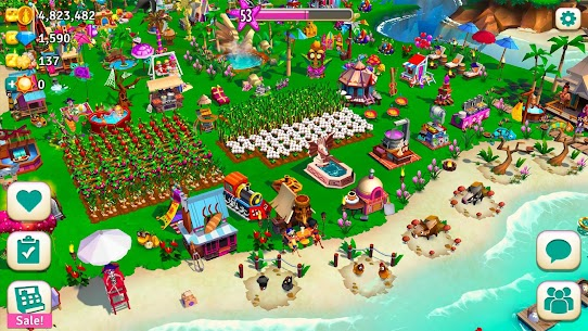 FarmVille 2 Tropic Escape Mod Apk [Unlimited Money + Menu Mod] 7