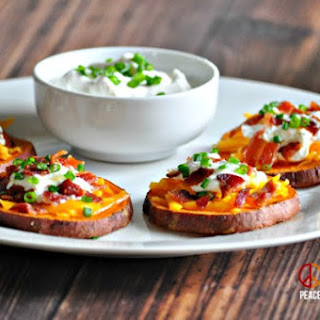 Loaded Sweet Potato Bites – Low Carb, Gluten Free.