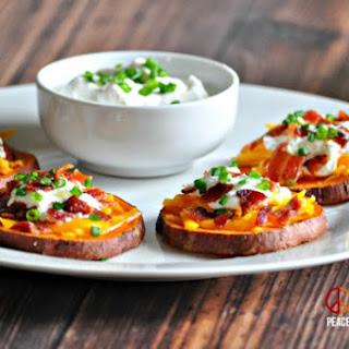 Loaded Sweet Potato Bites – Low Carb, Gluten Free.
