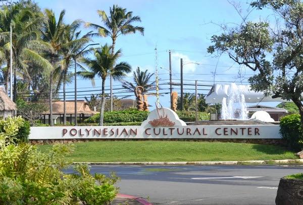 夏威夷。2009歐胡島蜜月。玻里尼西亞文化中心