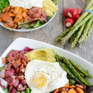 Spring Breakfast Salad.