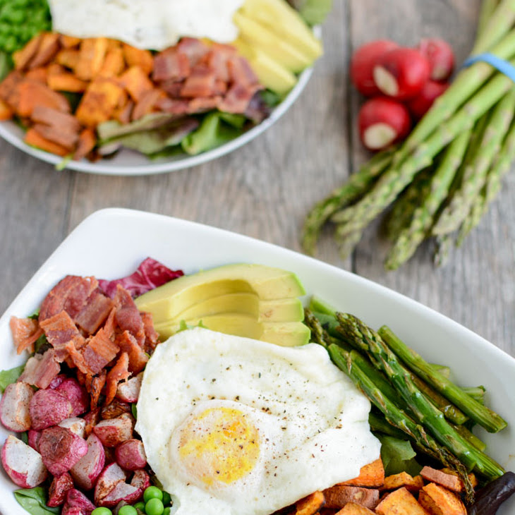 Spring Breakfast Salad Recipe