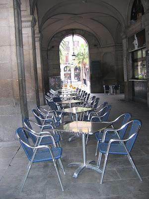 Tavoli al bar di archiviobesozzi