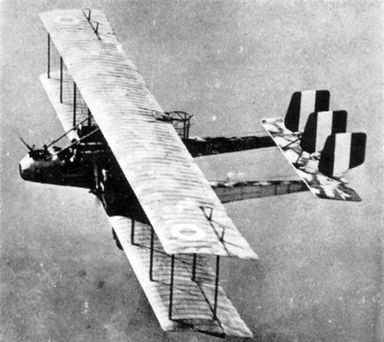Caproni Ca.1 Showing Large Wingspan