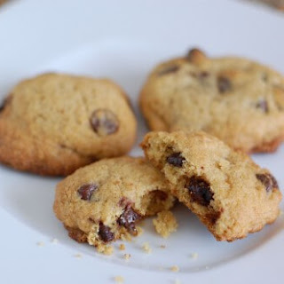 Whole-Wheat Chocolate Chip Cookies (with sugar!).