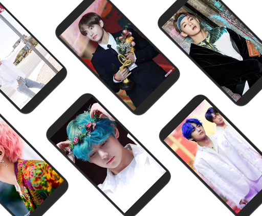 BTS V Kim Taehyung Wallpaper Offline - Best Photos 2.0.1 screenshots 8