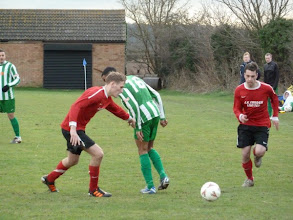 Photo: 02/02/13 v AFC Biggleswade (Beds County League Brittania Cup Q-F) 2-3 AET - contributed by Bob Davies