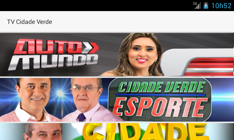 TV Cidade Verde- screenshot