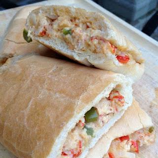 New Orleans Jazz Fest Crawfish Bread.
