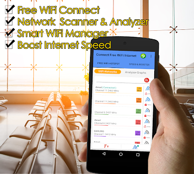 🏆Free WiFi Connect Internet Connection Everywhere