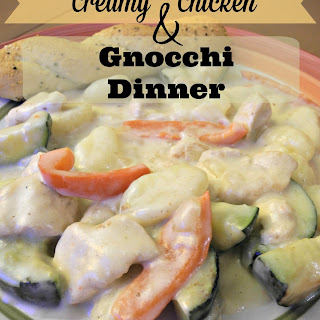 Creamy Chicken & Gnocchi Dinner