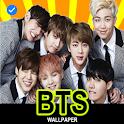 BTS Wallpaper Offline icon