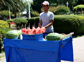 Photo: Day 110 - Water Melon Seller