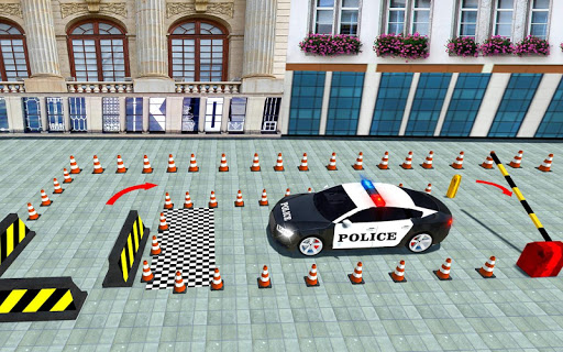 Police Cop Spooky Stunt Parking: Car Drive Parking filehippodl screenshot 3