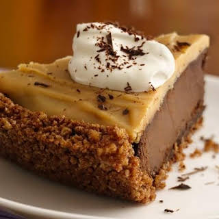 Gluten-Free Double Chocolate Peanut Butter Pudding Pie.