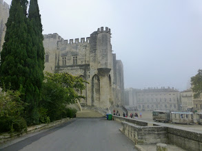 Photo: Retour sur la place du palais