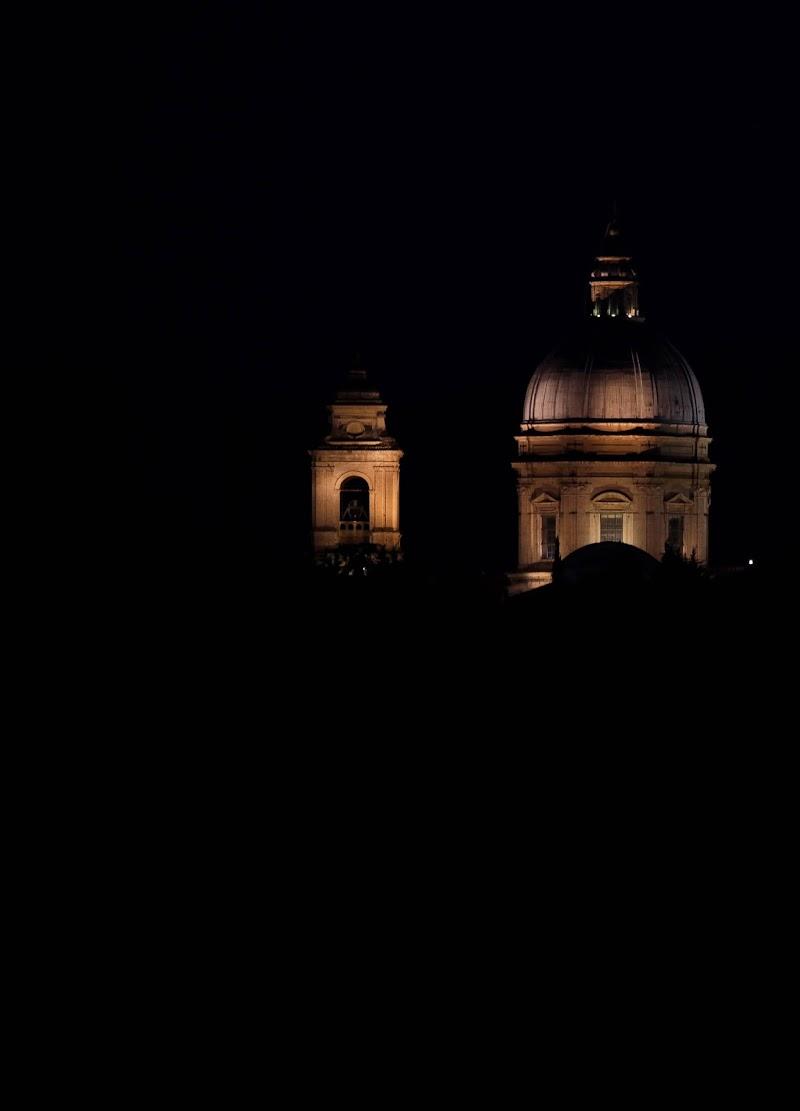 Santa Maria degli Angeli at night di caterina_kitta