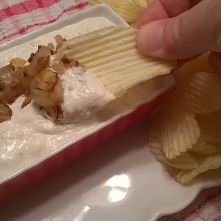 Caramelized Onion and Blue Cheese Dip