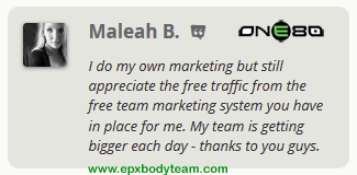 Photo: Real EPX Body Team Member Testimonial - Maleah