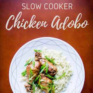 Slow Cooker Chicken Adobo Recipe [Paleo, Keto].