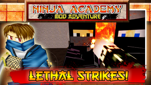 Ninja Academy Mod Adventure