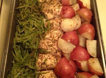 Green Beans,chicken Breasts And Red Skin Potatoes Recipe