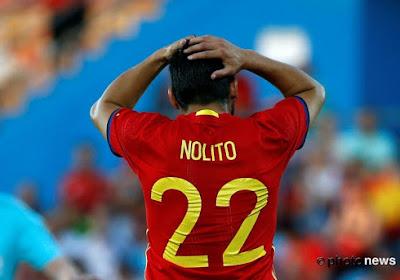 Gros coup dur pour le FC Séville dans la course au titre !  Nolito s'est blessé
