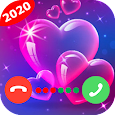 Colorful Phone Call Screen-Screen Themes&LED Flash