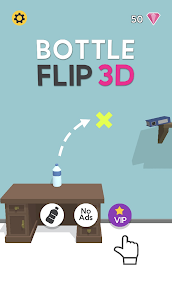Bottle Flip 3D Mod Apk 1.80 [Fully Unlocked + No Ads] 1