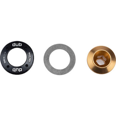 SRAM Truvativ DUB M18 Crank Bolt and M30 Self-Extracting Cap, Gold