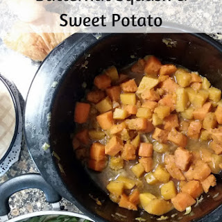 Butternut Squash and Sweet Potato.