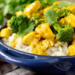 Lick Your Plate Coconut Chicken Curry.