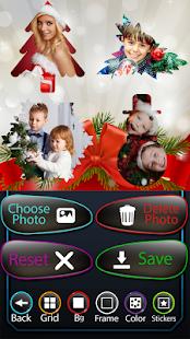 Vánoční fotografická koláž - náhled