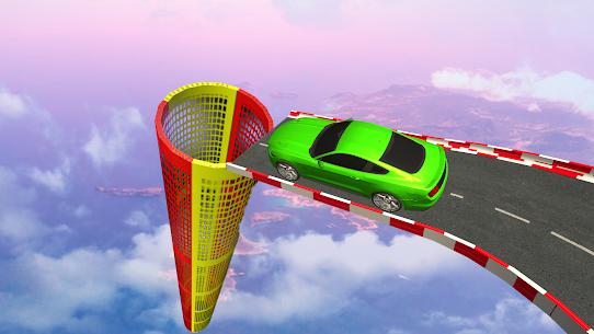 US Muscle car stunts 3D mega ramp car: impossible 2