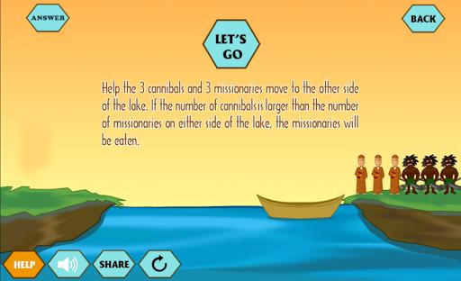 River Crossing IQ - Trivia Quiz download 2