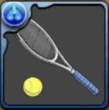 手塚のテニスラケット