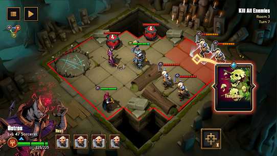 Grimguard Tactics: End of Legends Mod Apk (Unlimited Money) 0.1.7 6