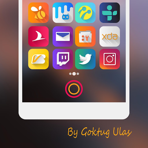 Graby - Icon Pack app for Android screenshot