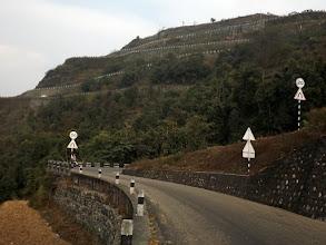 Photo: ... und LANGSAM geht´s die Berge hinauf.