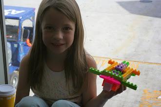 Photo: Anne's airplane creation