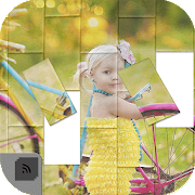App Icon for Tiles game Slide puzzle play to rearrange pictures App in Czech Republic Play Store