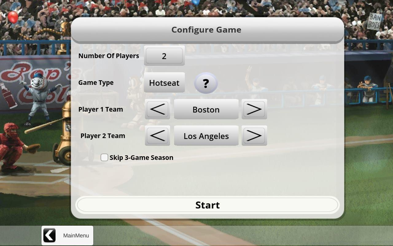 Baseball Highlights 2045- screenshot