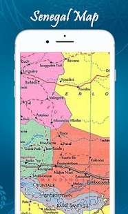 Senegal Map Android Apps On Google Play - Senegal map