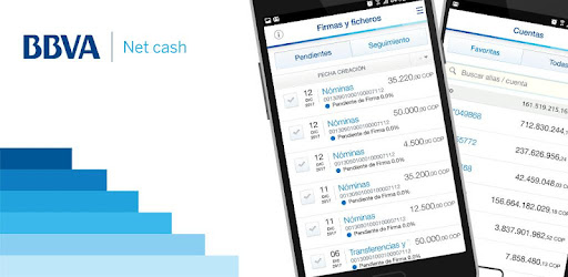 BBVA net cash mobile, perform treasury operations quickly and easily