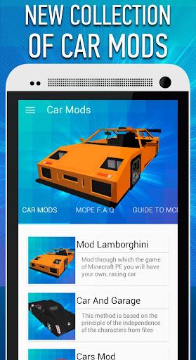 Car Mods for Minecraft PE