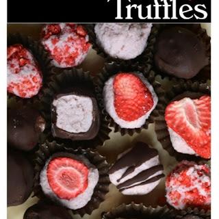 Two Ingredient Strawberry Truffles